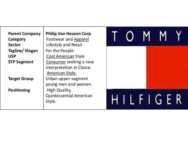 tommy hilfiger marketing strategy Marketing strategy of tommy hilfiger - download as powerpoint presentation (ppt / pptx), pdf file (pdf), text file (txt) or view presentation slides online presentation on tommy.