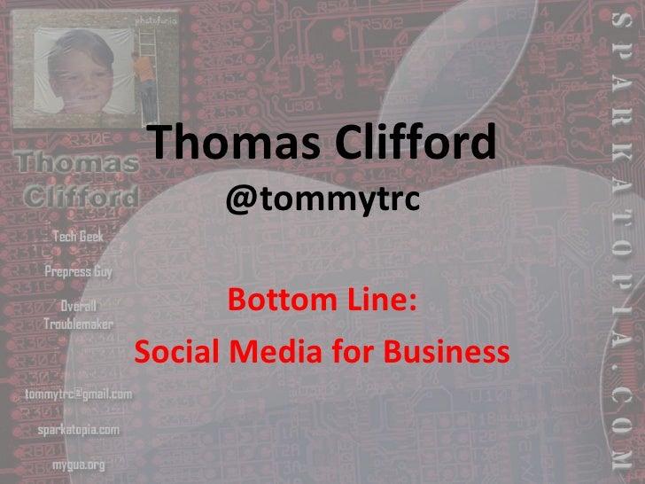 Tommytrc Presentation #Blsms