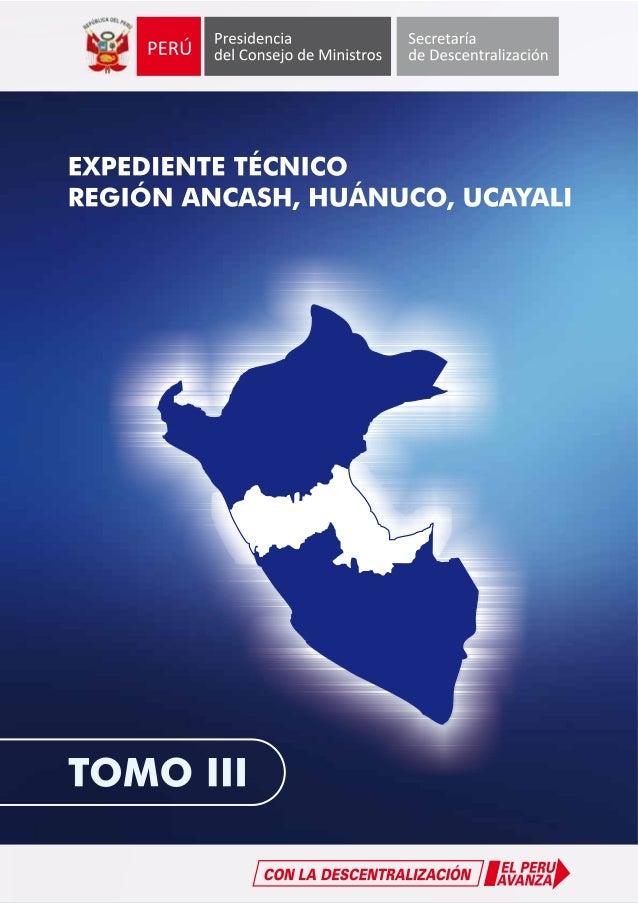 Tomo iii - Macro Region Ancash Huánuco Ucayali