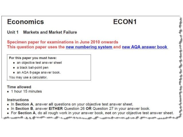 Hodder Education - Hodder Education - AQA A-Level Economics