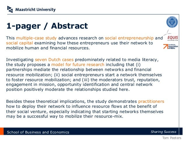 Master thesis on networking