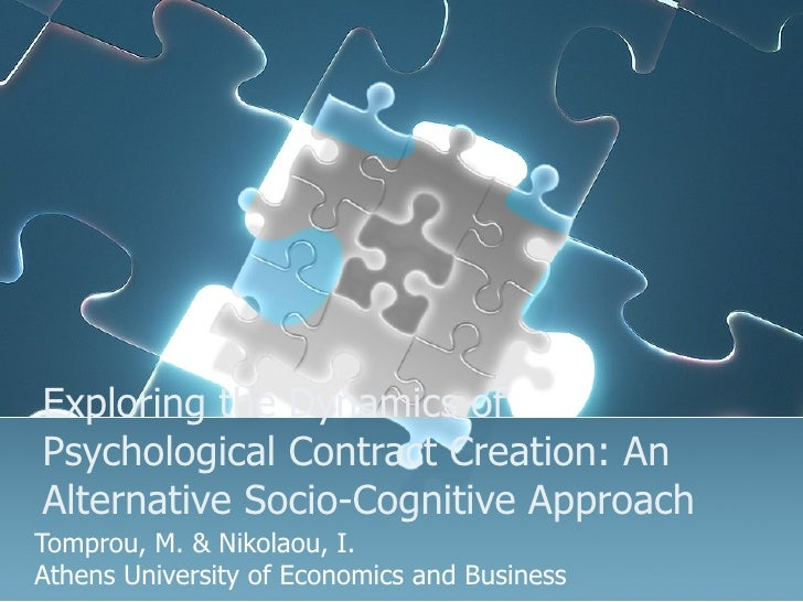 Psychological Contract Creation