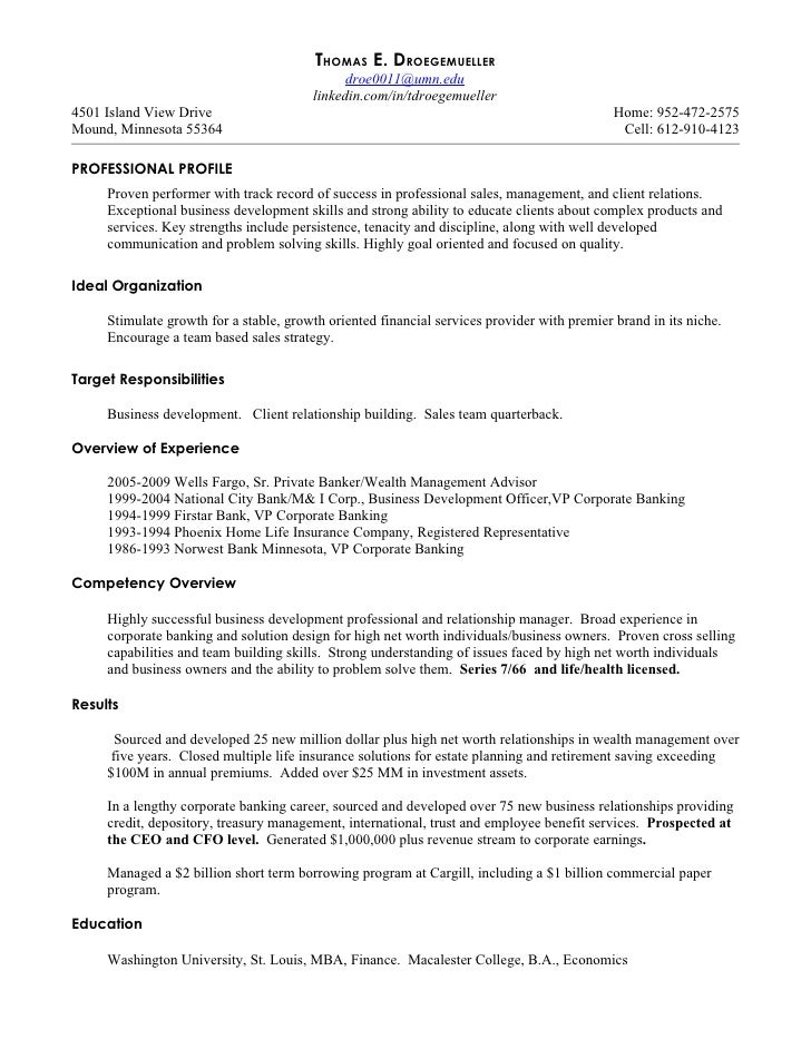 Resume for banker eczalinf resume for banker yelopaper Images