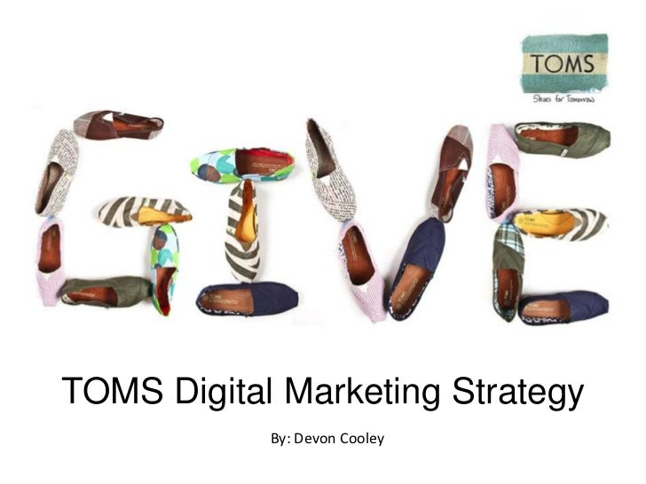 TOMS Online Strategy