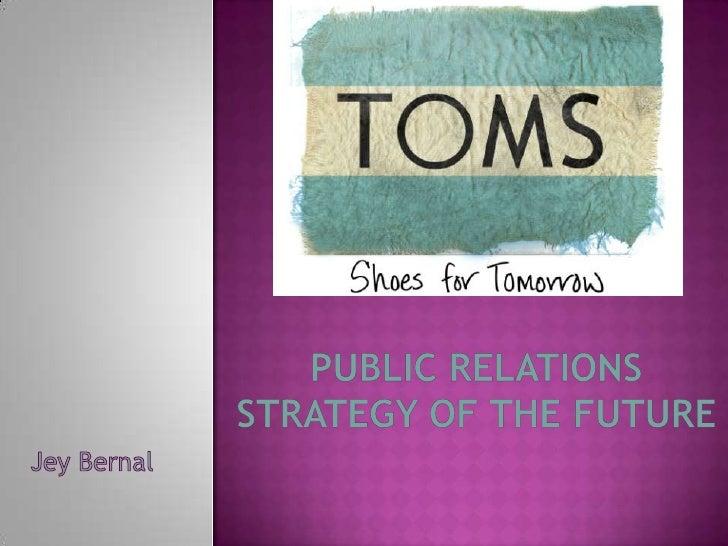 Toms Shoes  Presentation