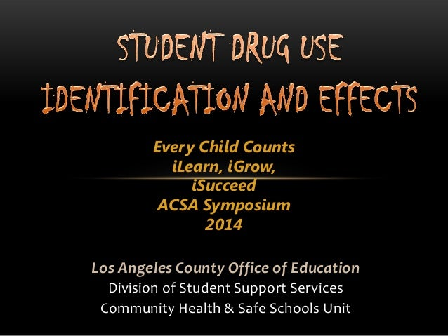 Every Child Counts iLearn, iGrow, iSucceed ACSA Symposium 2014 Los Angeles County Office of Education Division of Student ...