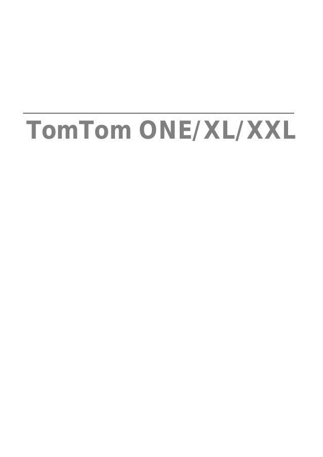TomTom ONE/XL/XXL