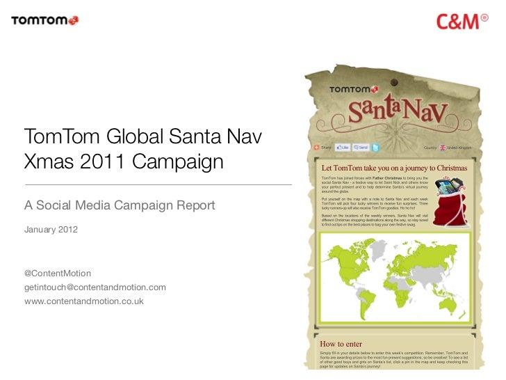 Tom Tom Santa Nav Xmas 2011: Social Media Campaign Roundup
