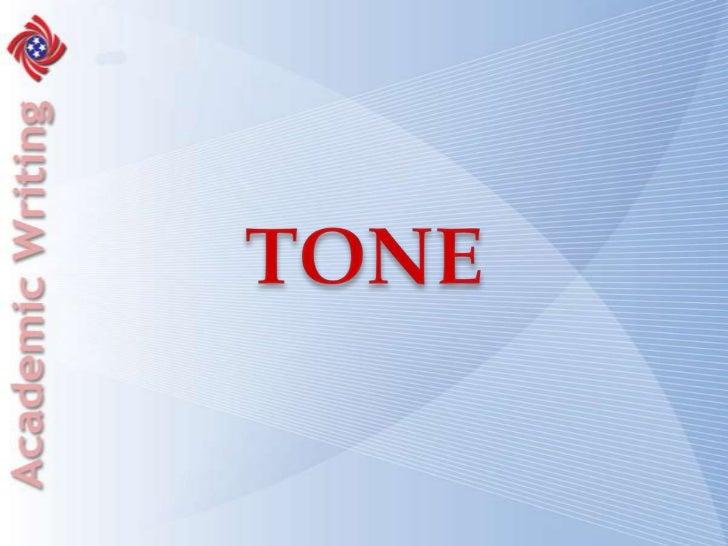 TONE<br />