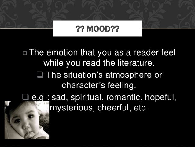 Difference Between Tone and Mood
