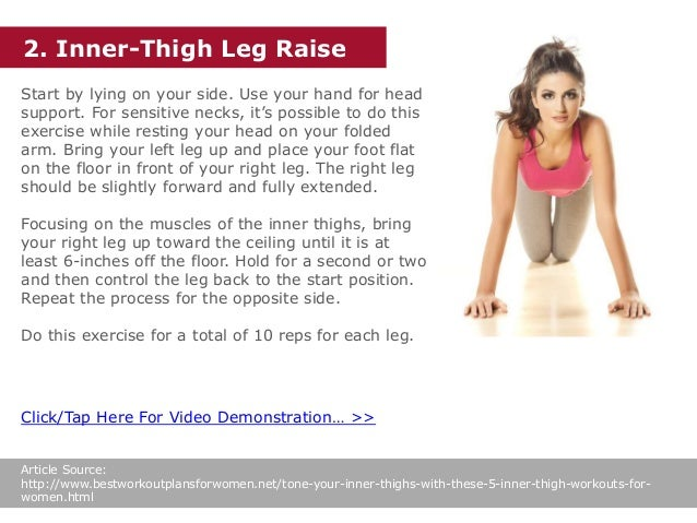 Tone Your Inner Thighs With These 5 Inner Thigh Workouts For Women