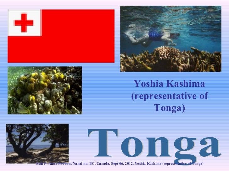 Yoshia Kashima                                                      (representative of                                    ...