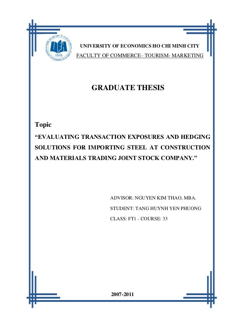 [Tang Huynh Yen Phuong]   2011           UNIVERSITY OF ECONOMICS HO CHI MINH CITY          FACULTY OF COMMERCE– TOURISM- M...
