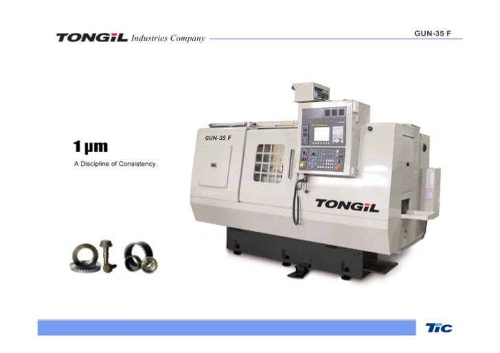 Tongil industries customized griding machines
