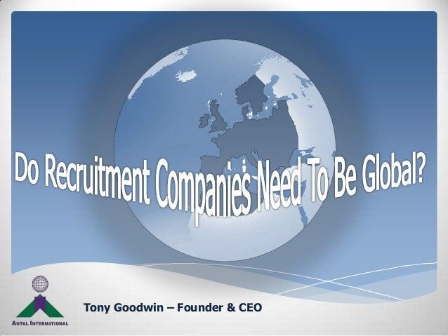 Tony Goodwin – Founder & CEO