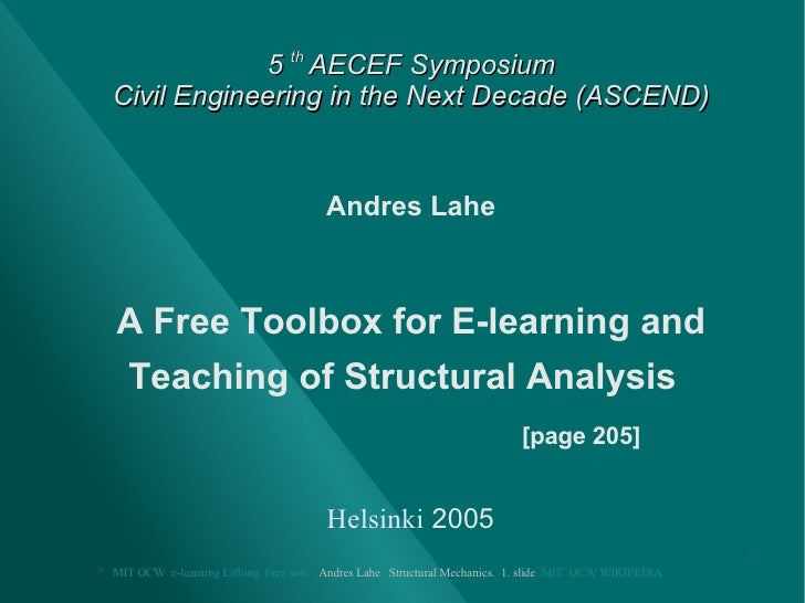 Toolbox for Structural Mechanics