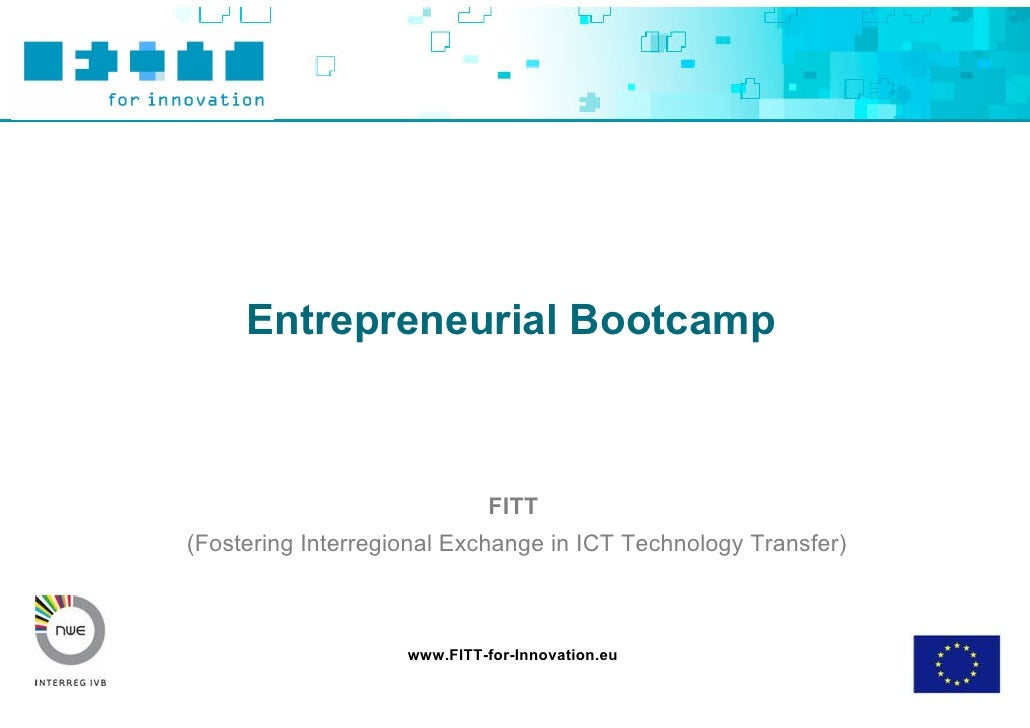 Toolbox Entrepreneurial Bootcamp Ppt Final
