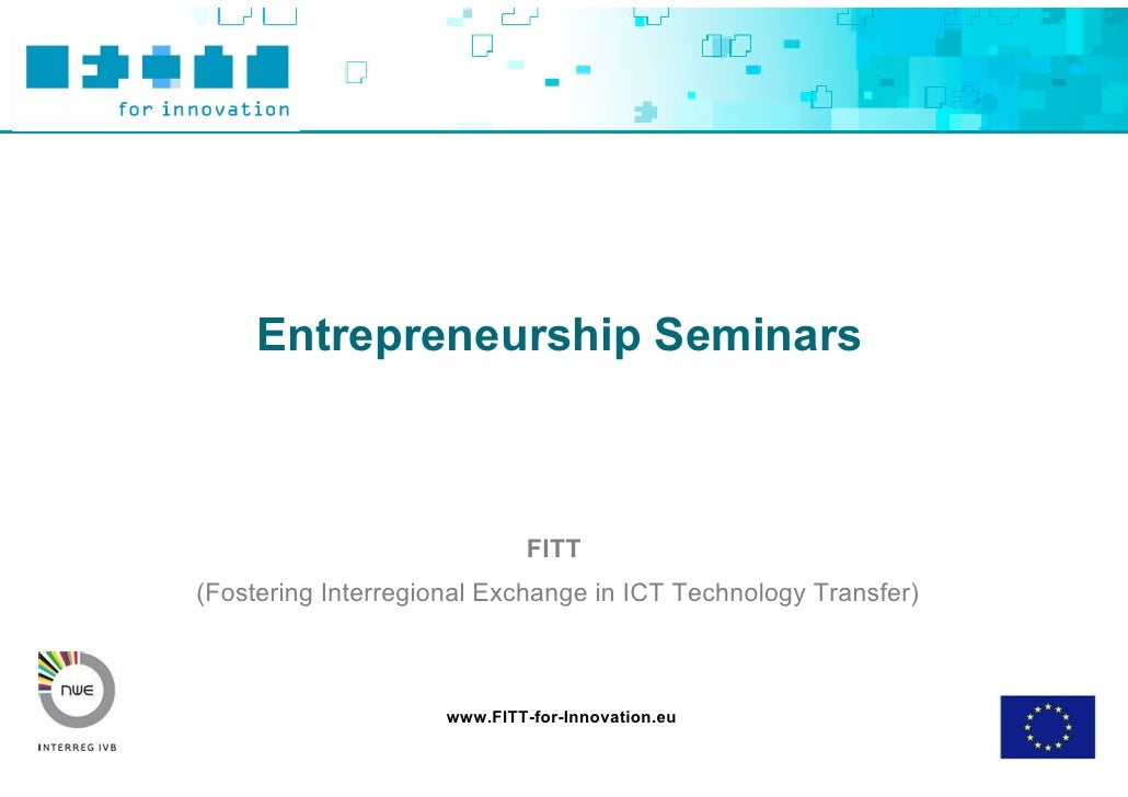 Toolbox Entrepreneurship Seminar Ppt Final