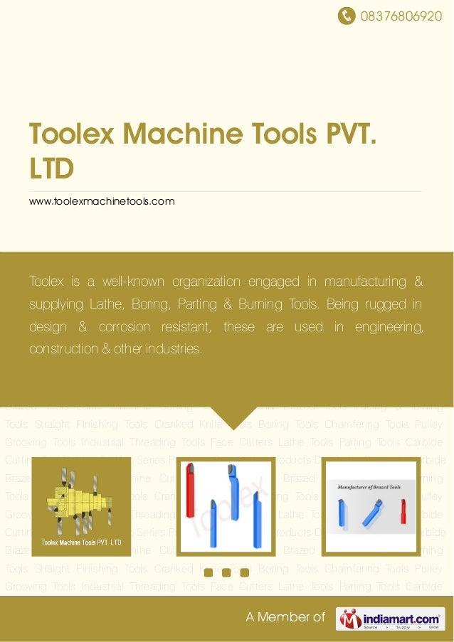 Toolex machine-tools-pvt-ltd