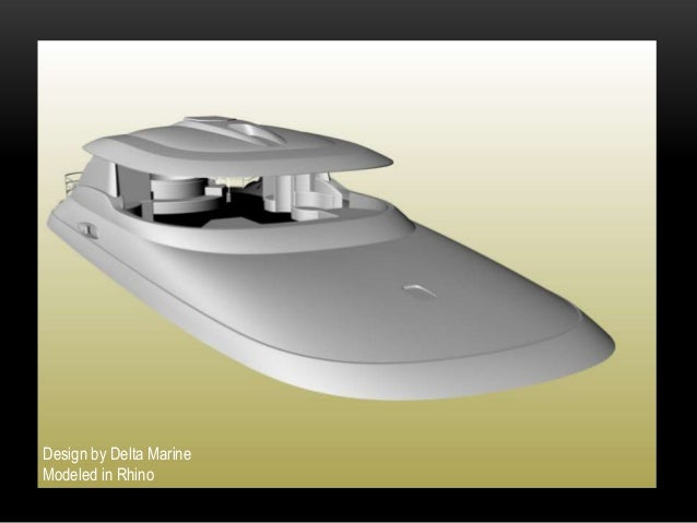 Design by Delta MarineModeled in Rhino