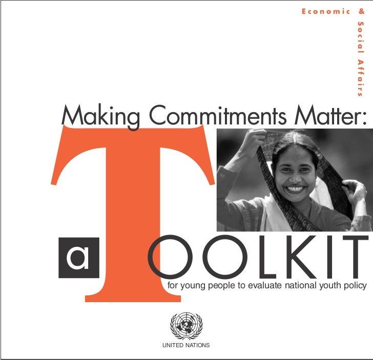 Economic          &                                                        Social AffairsMaking Commitments Matter:Ta     ...