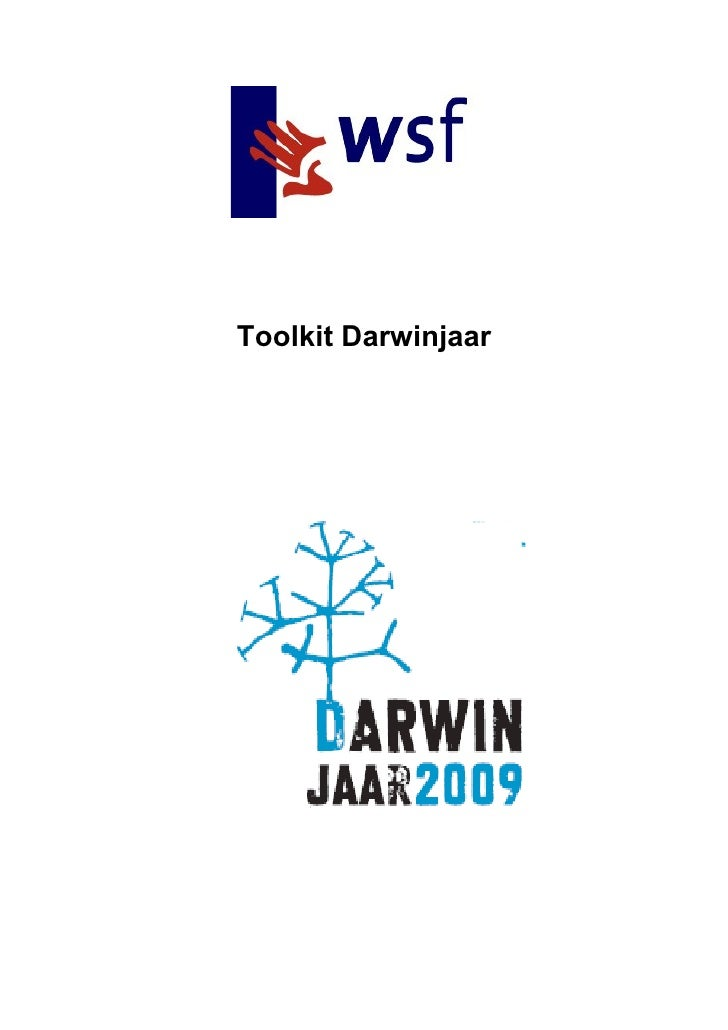 Toolkit Darwinjaar