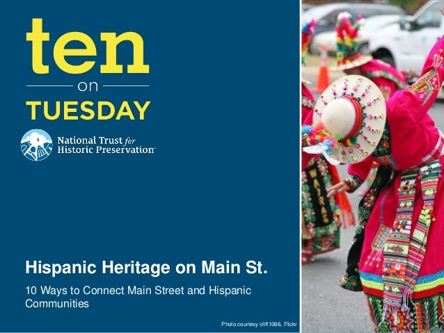 [10 on Tuesday] 10 Ways to Connect Main Street and Hispanic Communities
