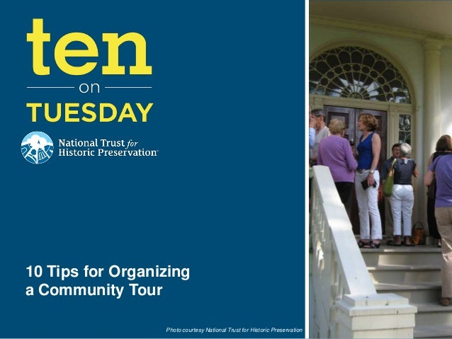 [10 on Tuesday] 10 Tips for Organizing a Community Tour