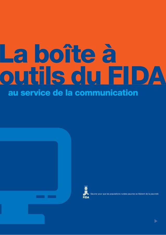 La boîte à outils du FIDA - au service de la communication