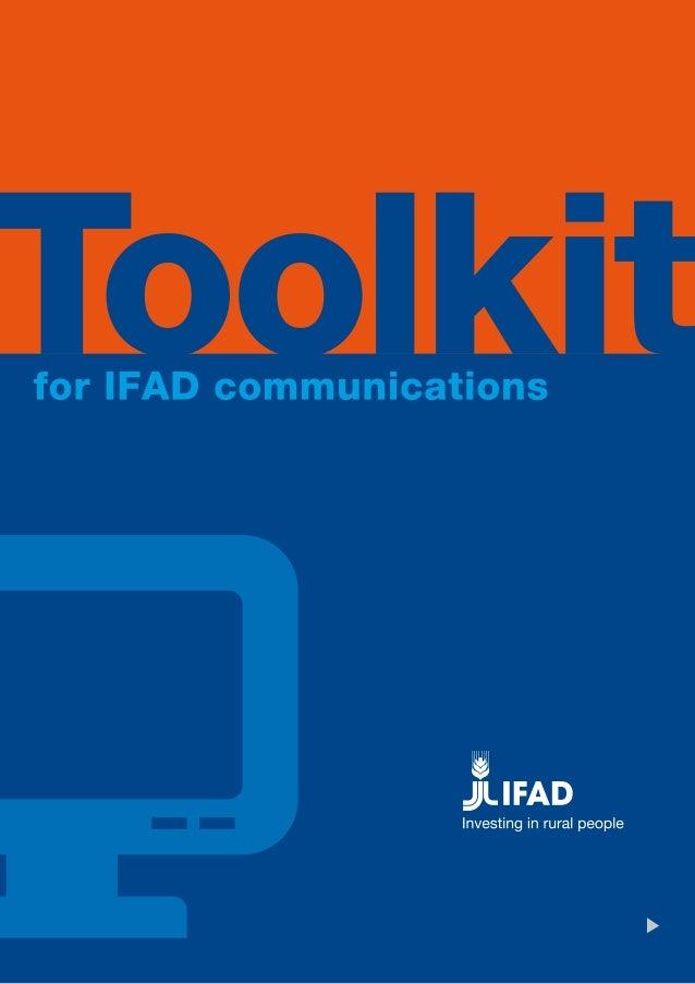 IFAD Communications toolkit