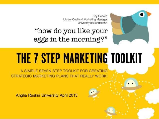Anglia Ruskin University April 2013