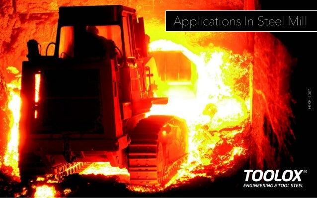 Toolox steel mill applications