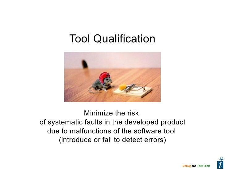 Tool Qualification v12.02