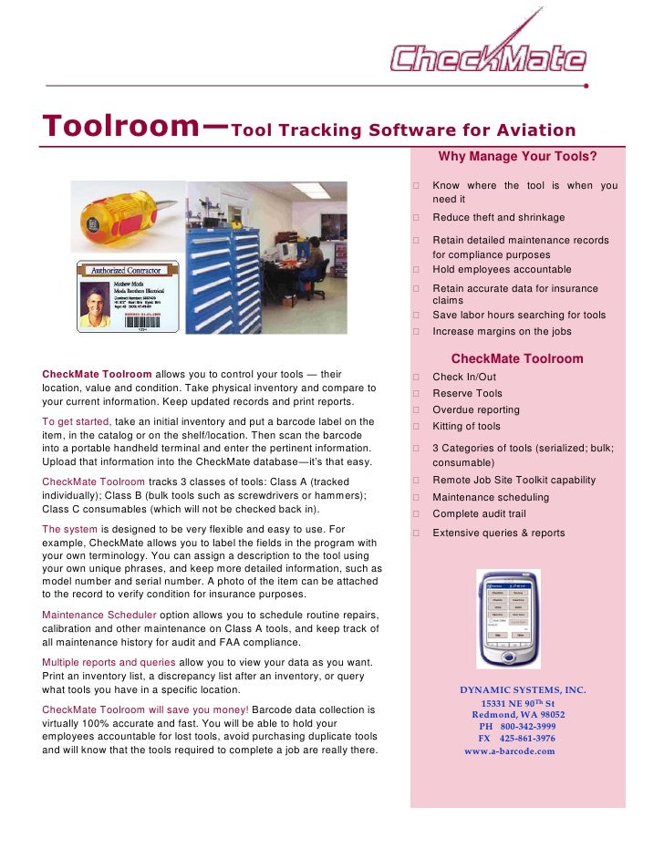 Toolroom—Tool Tracking Software for Aviation                                                                              ...