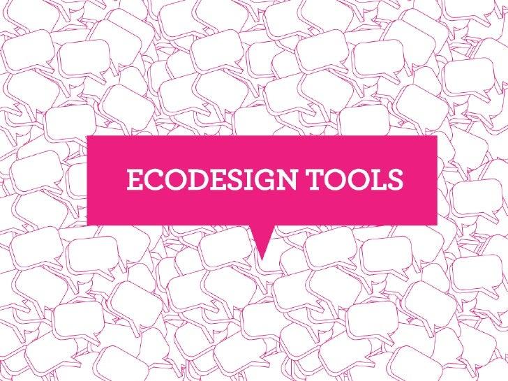 E:DN ecodesign tools