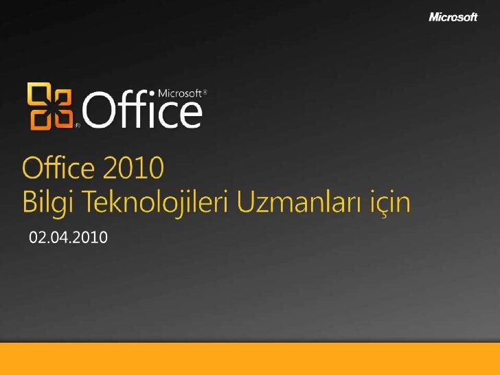 Office 2010 Araçları
