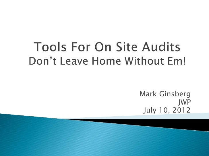 Tools for SEO Onsite Audits