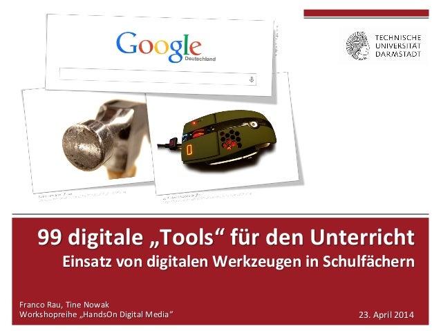 """99  digitale  """"Tools""""  für  den  Unterricht     Einsatz  von  digitalen  Werkzeugen  in  Sc..."""