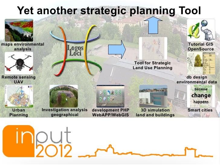 INPUT2012 - Logos Loci - Yet another strategic planning Tool