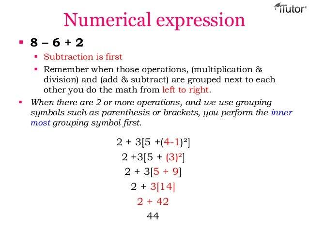 Similiar Numerical Operations Keywords