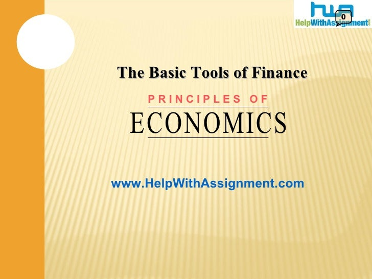 Tools of Finance- HelpWithAssignment.com