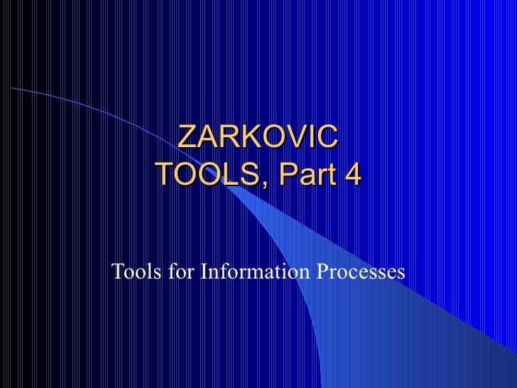 Tools part 4