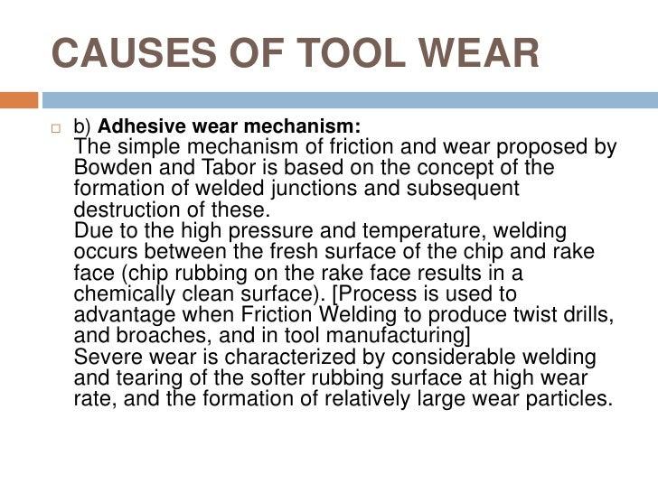 Tool wear
