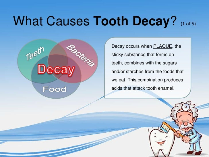 what is tooth decay Cavities, also called tooth decay, are permanently damaged areas in the hard  surface of your teeth that develop into tiny openings or holes.