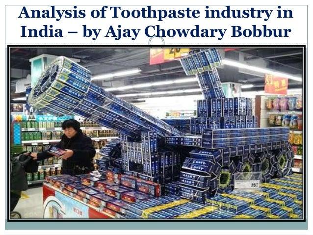 Toothpaste industry christ_university