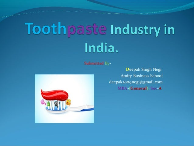 golgate toothpaste imc plan The marketing mix of colgate proves why this brand has been the leader in the oral hygiene segment for past few decades even with competitors like hul & p&gcolgate.