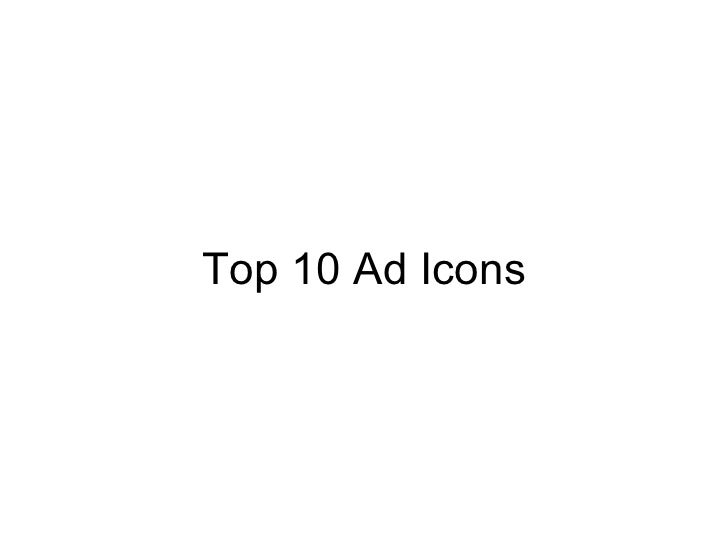 Top 10 Ad Icons