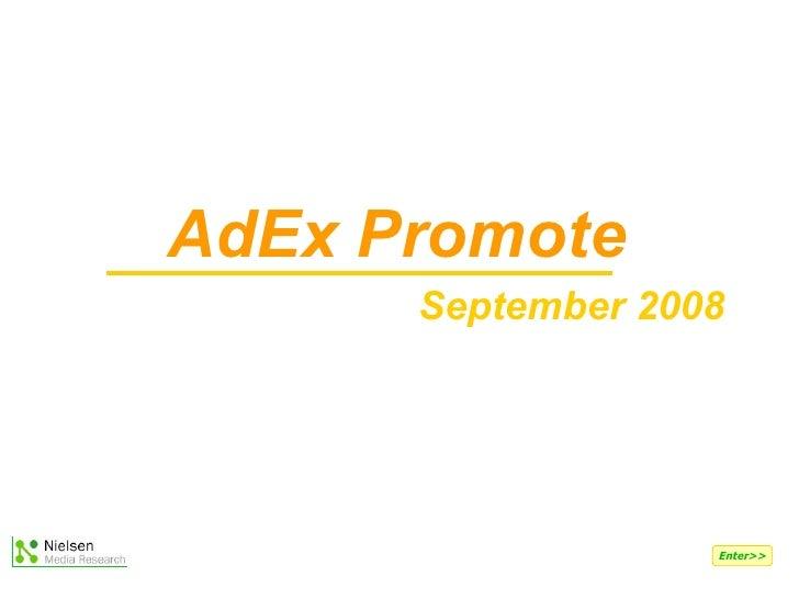 AdEx Promote September 2008  Enter>>