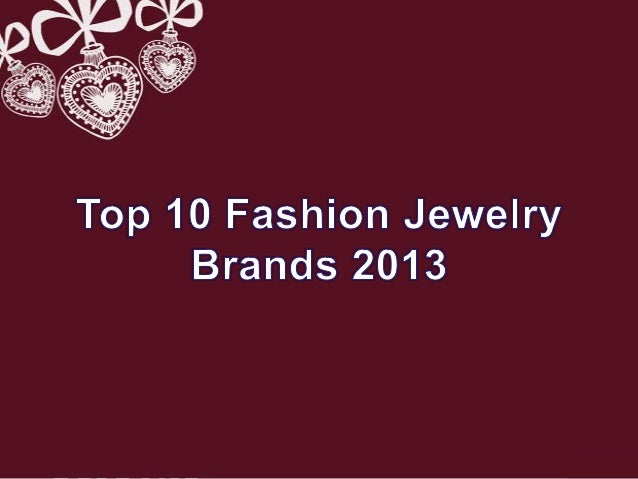 fashion jewellery popular fashion jewelry brands