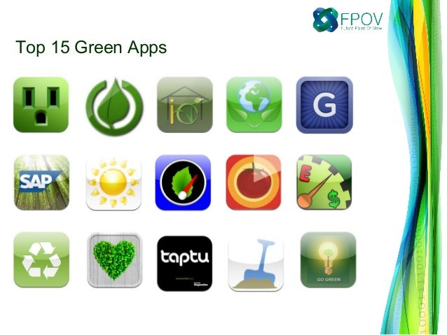 Top 15 Green Apps